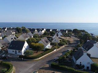 Villa 4 chambres, 200 m des plages, quartier calme