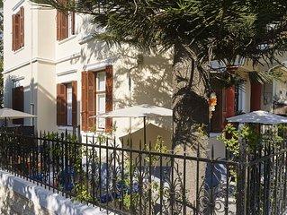 Villa Art Déco 240m², classée, en plein centre de Rhodes