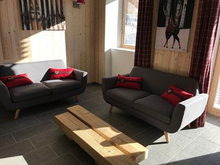 Valloire - appart 4* pour 10 pers - 3 chambres