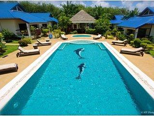 Spacieuse maison avec accès piscine