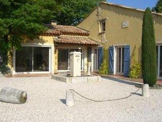 Villa provencale avec grande piscine lieu calme sans vis-a-vis a Fuveau