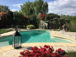 Magnifique Villa avec piscine. Plage à 300m