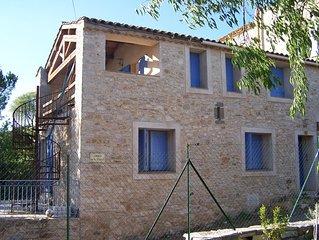 Maison vigneronne 120 m2, entre vignes et garrigue