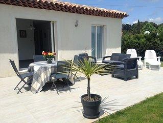 MINI VILLA, soleil et verdure sur la cote d'Azur près de CANNES