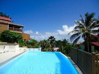 Joli bungalow avec accès piscine