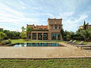 Villa de Luxe Samanah avec Piscine Privée et Golf