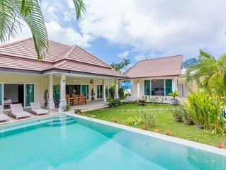 Pacotte - villa 3 chambres jardin tropical calme piscine privee bien cloturee