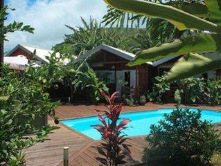 Superbe bungalow avec accès piscine