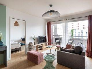Le Bora-Bora - Trois Chambres Appartement, Couchages 6