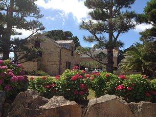 Location, Tregastel,Mer, plage a 100m, Pied dans l 'eau, Cote Granit Rose