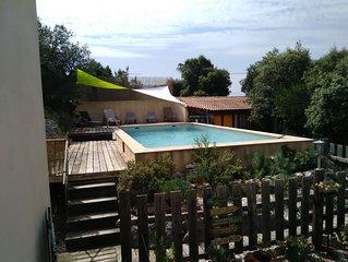 maison individuelle avec piscine idéale pour les vacances d été