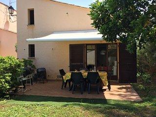 Près d'Ajaccio, à Porticcio, petite maison au calme proche de la mer.