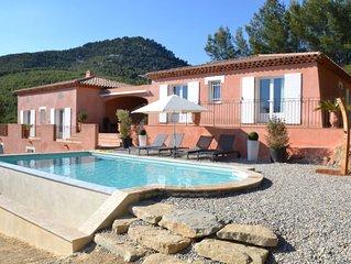 Belle Maison Neuve de 180m2 Vue mer,  Piscine,  Sanary sur Mer, Wifi gratuit