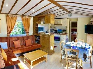 Mobil Home grand confort – Bord de mer – Terrasse