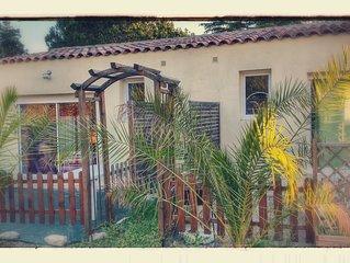 Appartement avec terrasse et parking privée entre mer et camargue