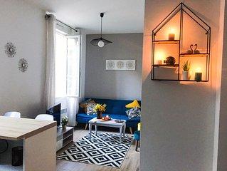 Appartement cosy bd de la tour d'auvergne