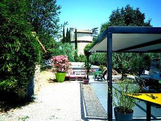 Lourmarin Luberon piscine privée