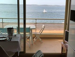 Prestigieux Appartement directement sur la plage Pereire d'Arcachon