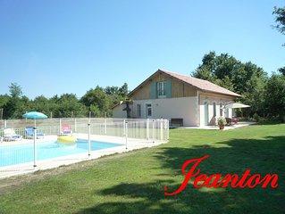 Maison landaise restauree 180 m2 avec piscine privee en lisiere de foret