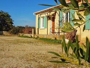 L'Oliveraie des Gites de Touvent, en Provence, a la campagne max. 6 personnes ⭐⭐