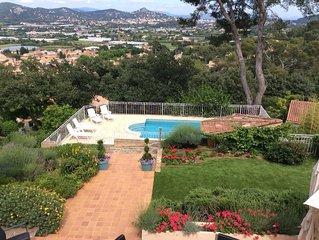 Hyeres particulier loue grande villa comprenant 7 chambres salon, séj,