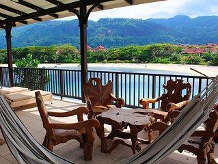 Appartement luxe 108m2 vue plage avec terrasse panoramique 64m2