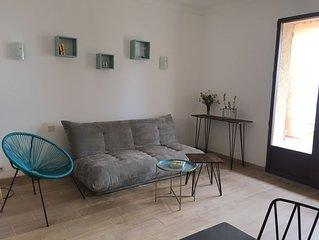 Charmant appartement, vue mer