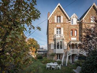 Villa  Familiale dans un quartier tranquille a deux pas des plages