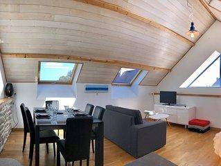 Duplex atypique Top cosy - Vue mer