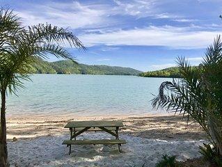 Magnifiques lodges avec plage privée