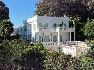 Quartier résidentiel de Tanger, très belle maison de maître, vue exeptionnelle