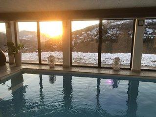 Chalet d'exception avec piscine privée à Ventron pour 14 personnes