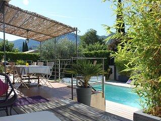 Maison indépendante avec piscine à Nyons en drôme provençale de 1150 à 1450€ TTC