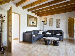 Villa CAZAUX entre lac et océan pour 9 personnes