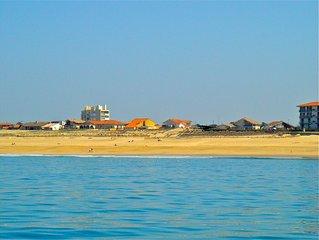 Villa bord de mer, sur la plage a Hossegor.Face a la Nord. Vue sur mer.