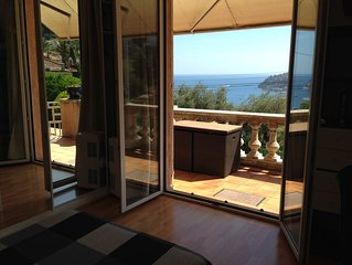 PROMO   Villa vue mer 100 m2 --plein sud- residentiel-Pkg Chambres Climatisees