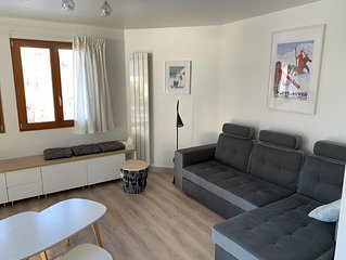 Appartement neuf 6/8 pers, 3 chambres, proche toutes commodités