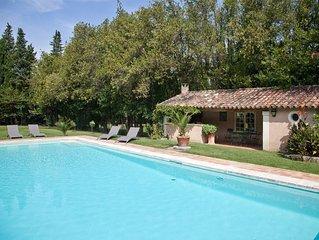 Grand Mas à St Rémy, jacuzzi, piscine, climatisati