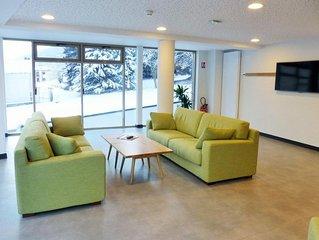 Wifi, à 250m des remontées, 2ème étage, balcon, parking, télévision, 33m², Bride