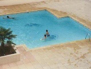 appart 5 personnes  Fréjus plage + piscine