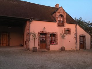 La grange aux grenouilles, maison au calme dans hameau, 89120 Les Troussards.