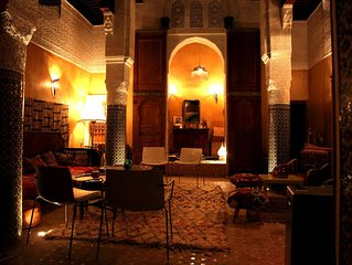 COSY OLD RIAD IN THE FES MEDINA