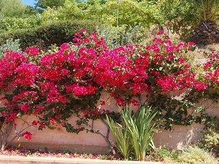 A Furnangina, villa familiale vue sur mer, jardin arbore et piscine