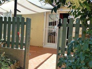 Villa T2 mezzanine avec terrasse semi-couverte  à St Cyprien Plage.