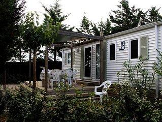 Domaine Sainte Veziane*** - Mobil Home Confort Plus 4 Pièces 6 Personnes