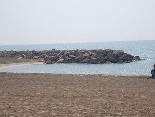 plage à 30 m - villa t3 avec parking