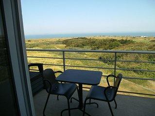 Duplex avec vue exceptionnelle sur la mer et les dunes de la Slack