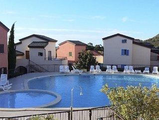 APPARTEMENT en RdC avec piscine 4/6 personnes a 500m de la plage de Lozari