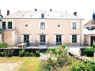 Gite de luxe avec piscine au coeur de la Vallée de la Loire.