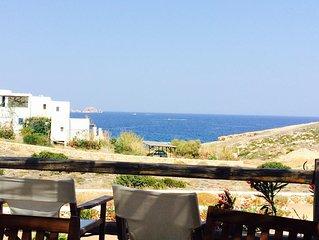 Jolie maison avec vue sur la mer